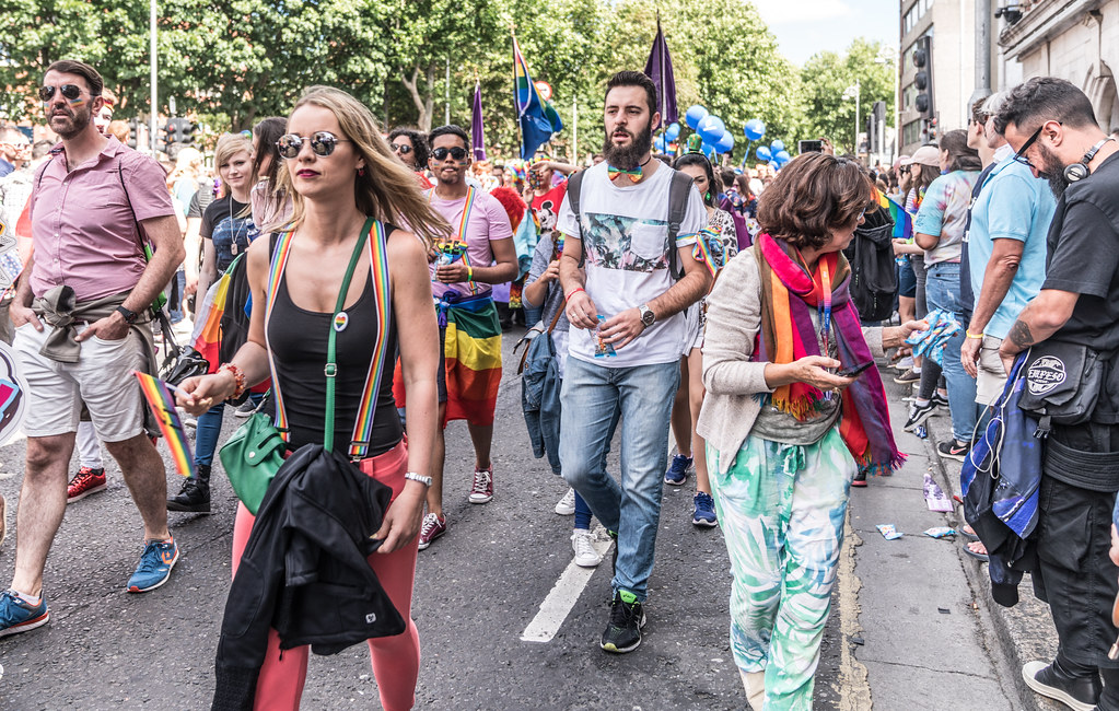 LGBTQ+ PRIDE PARADE 2017 [ON THE WAY FROM STEPHENS GREEN TO SMITHFIELD]-130099
