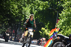 Pride Parade 2017 (zenseas) Tags: dykesonbikes motorcycles seattle gayprideparade 2017 washington sunny sun summer gay pride fun great rainbow color colour colourful colorful beautiful diversity love lovewins belltown
