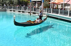 Las Vegas (stephen trinder) Tags: stephentrinder stephentrinderphotography lasvegas usa america crazy hot architecture nevada sincity gondola canal venetian water hotel casino serenade gondolier illusion shadow sunshine fake copy pretend tourist