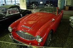 Austin Healey 3000 (John Morrissette) Tags: museum retro cars moscow russia gaz zil alfa panard citroen lancia matchless isetta soviet