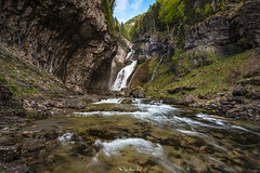 Fresh Water (Pablo Moreno Moral) Tags: estrecho cascada waterfall landscape paisaje pyrenees pirineos alta montaña high mountain nikon d810