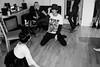 Cat's birthday (Gary Kinsman) Tags: fujix100t fujifilmx100t 2017 london wc1 holborn party houseparty chancerylane bw blackwhite flash highiso night candid unposed dancing people person