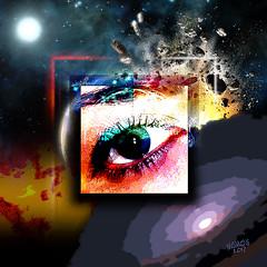 EYE (mfuata) Tags: eye göz look bakış observer gözlem space astro uzay light ışık