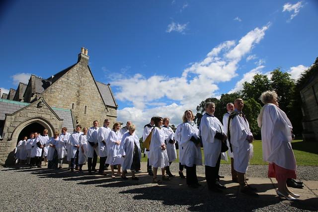 St Columba's Day celebrations 2017