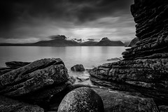 Elgol (PhotoToasty) Tags: isleofskye elgol cuillins bw