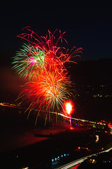25 (morgan@morgangenser.com) Tags: pacificpalisaddes beach belairbayclub blue celebrate fireworks color iso100 july3rd loud nikon night ocean orange pch people red reflection special spectacular streaks timeexposire tripod yellow amazing