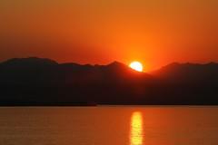 Sunset over Lake Garda (D464-Darren Hall) Tags: settingsun