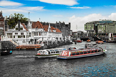 Colors on the Canal (sdphotography42 (M. Sean Dingle)) Tags: amsterdam canals colorful nederlands netherlands europe inspiredbylove