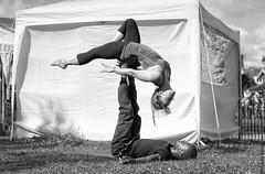 Acroyoga (Allan Jones Photographer) Tags: bw acroyoga freedompark freedom fields plymouth yoga acrobatic allanjonesphotographer canon5d3 canonef70200mmf28lisusm blackandwhite mono