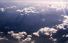 624-BN2/033 (Jock?) Tags: kodak ektachrome 100 epp 5005 film retro nikon f3 nikkor 20mmf35ais flight qantas boeing 767 window fromtheair newsouthwales northernrivers vintage haze hills borderranges