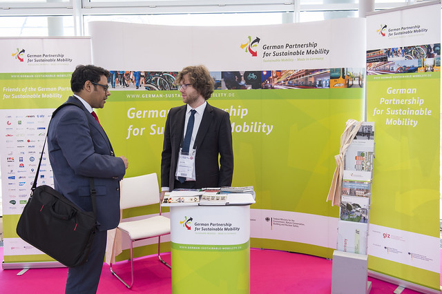 German Partnership for Sustainable Mobility (GPSM) stand