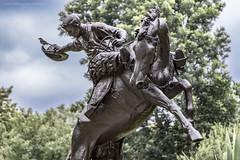 State capitol grounds (In Explore 7.9.17) (Jodi Newell) Tags: austin bird canon horses jodisjourneys jodinewellgmailcom statecapitol statue texas