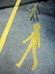 Posture (the justified sinner) Tags: justifiedsinner stick man carpark paint sign birmingham westmidlands airport panasonic 17 20mm gx7
