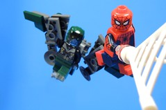 Homecoming (MrKjito) Tags: lego minifg super hero comic comics marverl spiderman homecoming sony cinematic universe vulutre movier