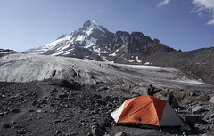 Camp (Goran Joka) Tags: camp tent peak summit glacier icefield snow sky mountain mountaineering mountaineers rock caucasus landscape nature outdoor