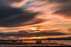 Sunset at Blackness (ola_er) Tags: sunset light sun clouds long exposure lee filters ship forth scotland uk nikon