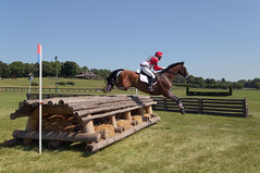 Selena O'Hanlon and Foxwood High (Tackshots) Tags: eventing horsetrials crosscountry theplains greatmeadow horse jumping riding virginia tamron2875mmf28