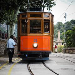22 (real ramona) Tags: majorca mallorca sóller balearic rail train tram urban transport red vintage tracks