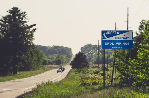 Adopt a Highway - Skol Vikings