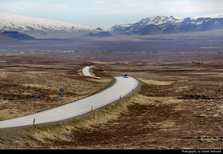 Þingvallavegur, Iceland
