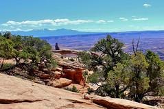 Mesa Arch from afar (mpalmer934) Tags: utah mesa arch desert moab