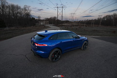 "Caesium Blue Jaguar F-Pace on 22"" ACE Alloy Convex (ACEALLOYWHEEL/AMF FORGED) Tags: jaguar fpace suv off road ace acealloy acealloywheel acewheels aceconvex wheels wheel sunset wheeltrade aftermarket"