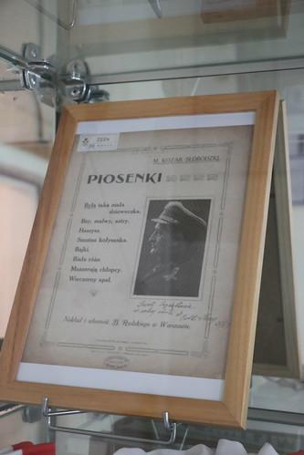 """Mieczysław Kozar-Słobódzki, """"Piosenki:"""""""