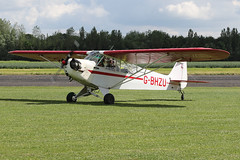 G-BHZU (QSY on-route) Tags: gbhzu lincoln aero club mid summer fly in sturgate 04062017