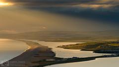 Illuminating (Chris Jones www.chrisjonesphotographer.uk) Tags: chesil beach bank dorset weymouth portland light rays contrast seascape chris jones photographer sea ocean jurassic coast coastline wwwchrisjonesphotographeruk south west england uk