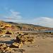 Sellicks (austr07) Tags: beach southaustralia sigma50f14 d800 sellicksbeach cliffs clouds coast fleurieupeninsula sea