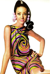 60's Psychedelic Fashion (Dolldiva67) Tags: 60 fashion sixties psychedelia psychedelic twiggy vintage pictures poppyparker big eyes