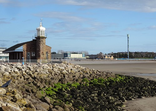Stone Jetty Lighthouse & Polo Tower, Morecambe