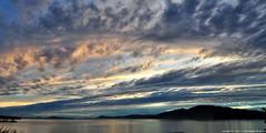 2017-06-19 Sunset (01) (2048x1024) (-jon) Tags: anacortes skagitcounty skagit washingtonstate washington salishsea fidalgoisland sanjuanislands pugetsound guemeschannel pnw pacificnorthwest northwest pacific waterfront sky sunset cloud clouds composite stitched a266122photographyproduction seascape