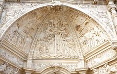 05 astorga catedral pórtico principal (xabyjordi) Tags: caminosantiago camino santiago leon bierzo astorga roble bosque