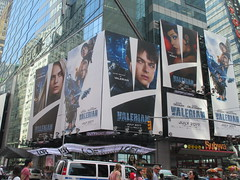 Valerian and the City of a Thousand Planets Billboard Poster 7194 (Brechtbug) Tags: valerian city thousand planets billboard poster times square nyc 2017 french science fiction comics series from 1967 valérian laureline written by pierre christin illustrated jeanclaude mézières film movie directed luc besson new york 06182017