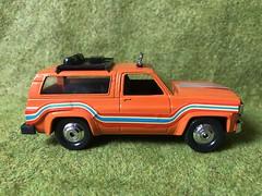 Playart Hong Kong - Chevy Blazer 4x4 - Miniature Die Cast Metal Scale Model Vehicle (firehouse.ie) Tags: cars car blazer chevrolet chevy miniatures miniature metal models model trucks truck toys toy playart
