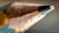 Pencil (Mohammed Qamheya) Tags: macro closeup 7dwf nikon nikkor d7000 d7k afsmicronikkor600mmf28ged f160 600mm 1160s iso100 pencil