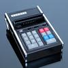 A.V.E.B.K.A. Hand held Calculator (vicent.zp) Tags: dscn2867 avebka portable calculator japan vintage 1973 modelnoapfmarkv handheld