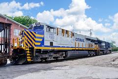 Eastbound (Jim Atkins Sr) Tags: crex norfolksouthernrailroad norfolksouthern railroad freightyard freighttrain es44ac d940cw northcarolina newbern locomotive sony sonyphotographing sonya58