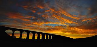 Blazing arches