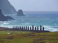 Ahu_Tongariki_Easter_island (ruben25x12) Tags: isladepascua easterisland easter polinesia polynesia moai islapajaro orongo ranoraruka marae cultura akivi hangaroa chile anakena