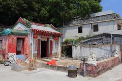 Tin Hau Temple in Ma Wan Main Street Village (tomosang R32m) Tags: 馬湾 馬灣 parkisland hongkong 香港 珀麗灣 琥珀湾 mawan 馬灣大街旧村 馬灣大街 mawanmainstreetvillage tinhautemple 天后廟 abandonedtown abandoned town village ghosttown