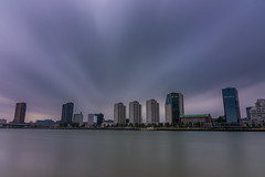 2017.06.22. Rotterdam (Péter Cseke (mostly OFF until July 23)) Tags: firecrest formatt hitech d750 nikon city clouds cityscape scenery scenic sky longexposure water waterscape river tower urban rotterdam netherlands holland europe travel holiday amazing beautiful