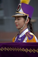Marching Band from Taiwan (swong95765) Tags: taiwan uniform woman female lady marching parade band highschool kaohsiung 樹德家商 樂儀隊