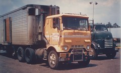 GMC brothers (PAcarhauler) Tags: gmc coe cabover truck semi tractor trailer