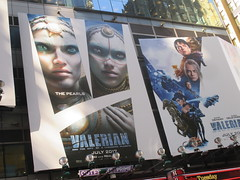Valerian and the City of a Thousand Planets Billboard Poster 7957 (Brechtbug) Tags: valerian city thousand planets billboard poster times square nyc 2017 french science fiction comics series from 1967 valérian laureline written by pierre christin illustrated jeanclaude mézières film movie directed luc besson new york 06262017