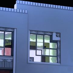 semblance of overlap (fx) (msdonnalee) Tags: window janela ventana geometry geometrie digitalfx fenster finestra facade facciate fachada deco окно 窓 facciata фасад ファサード 正面 azul blue blau