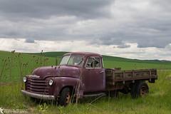 Abandoned (azcangal) Tags: vintage abandoned car oldcar rusted palouse washington farm farming old