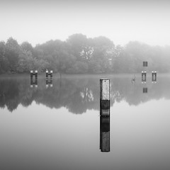 Rathenow (Jaques10000) Tags: nikon d750 rathenow havelland havel landscape longexposure monochrome blackwhite reflections autumn fog