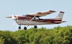 G-CBME (goweravig) Tags: gcbme visiting aircraft rems cessna skyhawk swansea wales uk swanseaairport